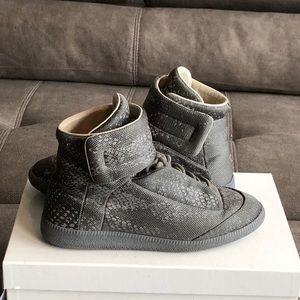 Maison Margiela python Future sneakers gray